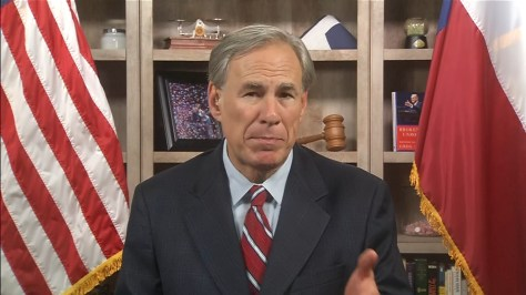 Exclusive one-on-one interview with Gov. Greg Abbott about failed voting bill