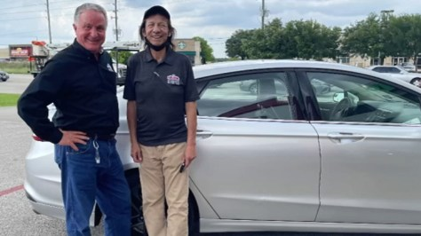 Papa John's Pizza gives worker new car after his catalytic converter was stolen