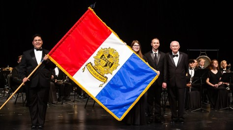Prestigious award brings international attention to Crosby High band