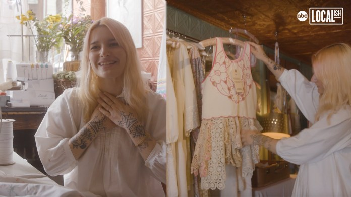 Brooklyn Boutique Upcycles Antique Linens Into Chic Clothing for Any Occasion