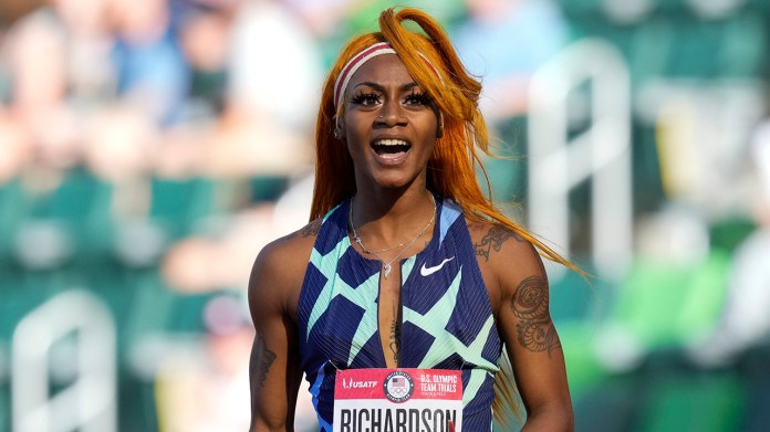 US track star Sha'Carri Richardson will miss Olympic 100 after marijuana test