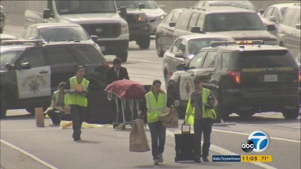 Pedestrian killed in hit-and-run crash on 91 Freeway in ...