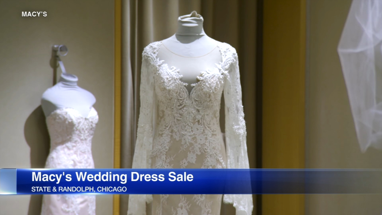 Macy's Wedding Dress Sample Sale This Weekend