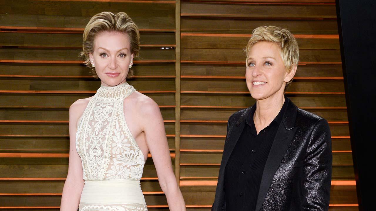"""Ellen DeGeneres And Portia De Rossi Try To """"break The"""