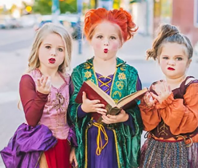 Texas Sisters Run Amok In Wickedly Fun Hocus Pocus Themed Halloween Photoshoot