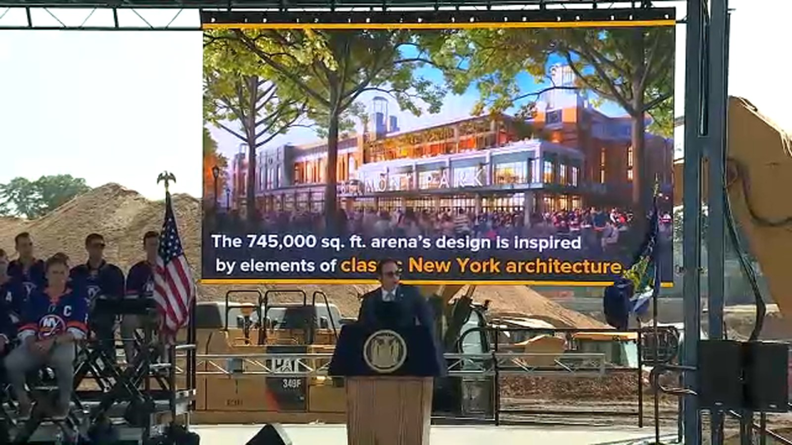 New York Islanders Break Ground On New Hockey Arena At