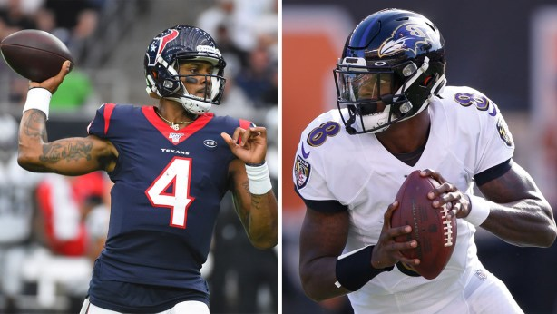 Deshaun Watson vs Lamar Jackson: Rematch of explosive college game ...