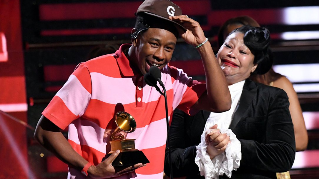 Image result for tyler the creator grammy