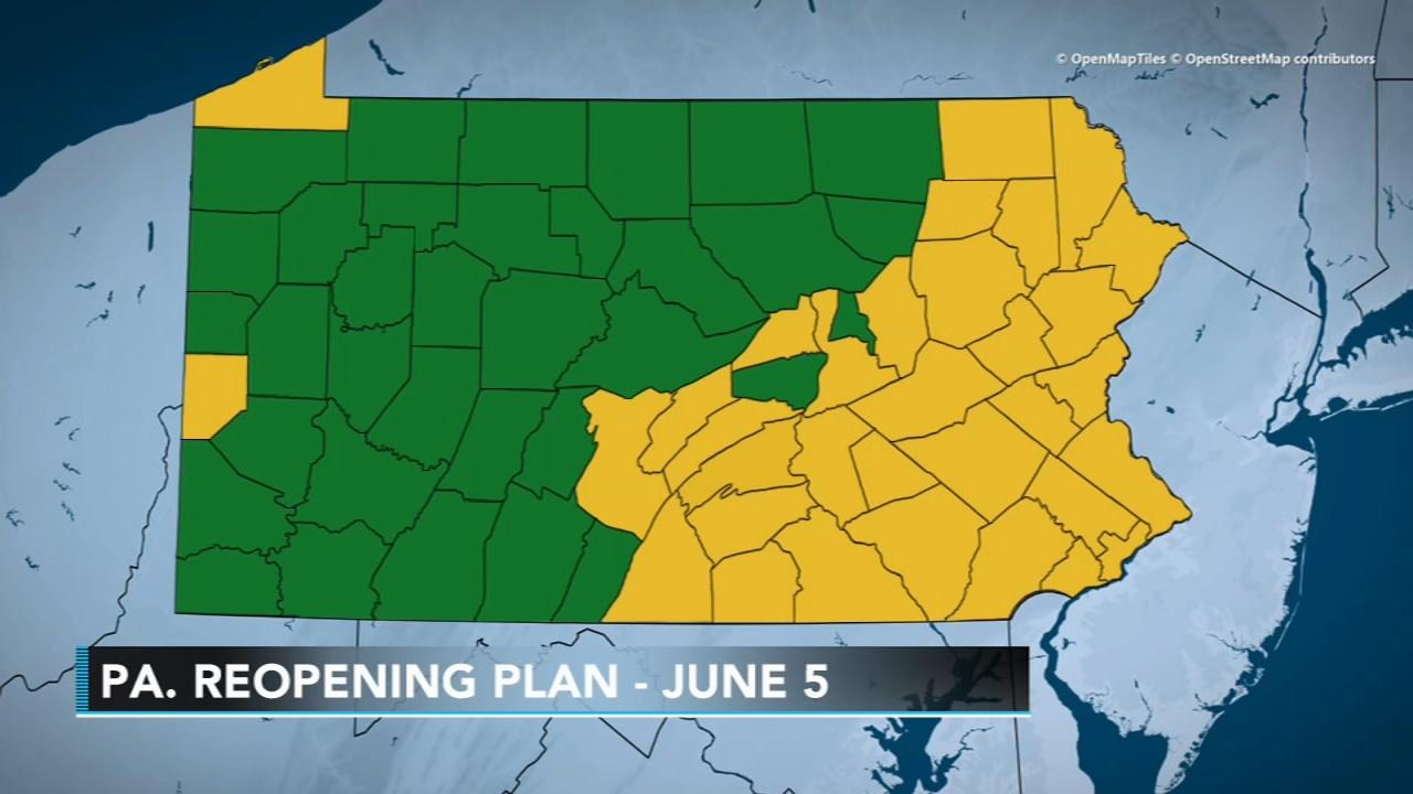Reopen Pennsylvania Stay At Home Order Expires Philadelphia Area Moves To Yellow Phase As Coronavirus Pandemic Continues 6abc Philadelphia