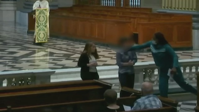 Churchgoer attacked during Mass at Cathedral Basilica of Saints ...