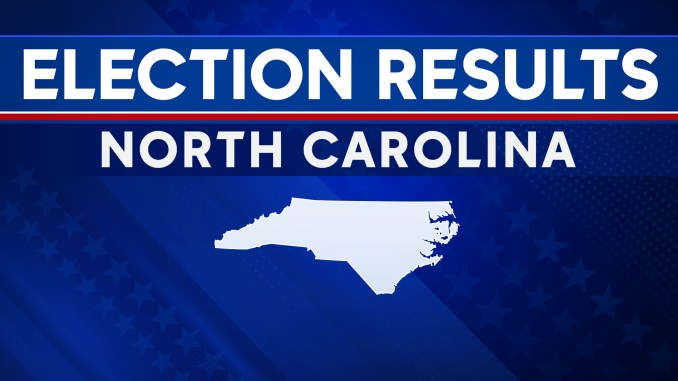 2020 NC election results by county, electoral college votes
