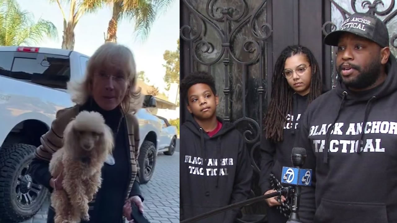 California family speaks out after stun gun wielding White woman accuses them of acting 'Black' in 'white neighborhood'