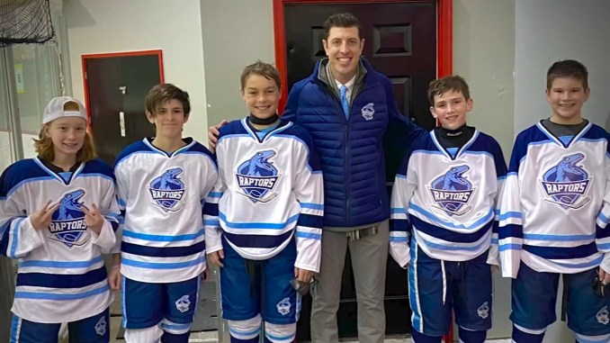 Raleigh youth hockey coach giving back to the community who supported him