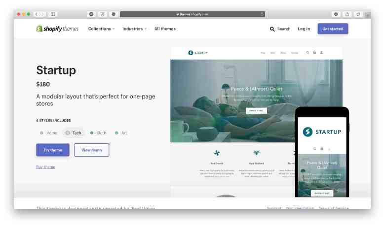 Avvia Shopify Theme