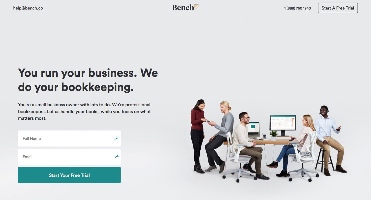 Bench Small Business Accounting Software