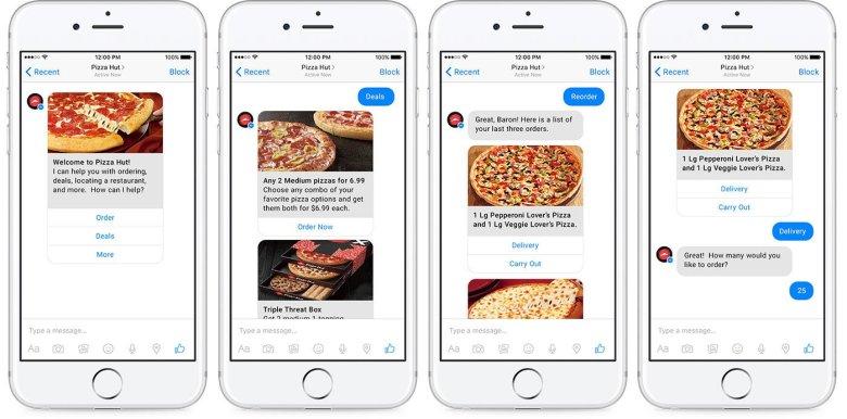 Pizza Hut E-commerce Chatbot