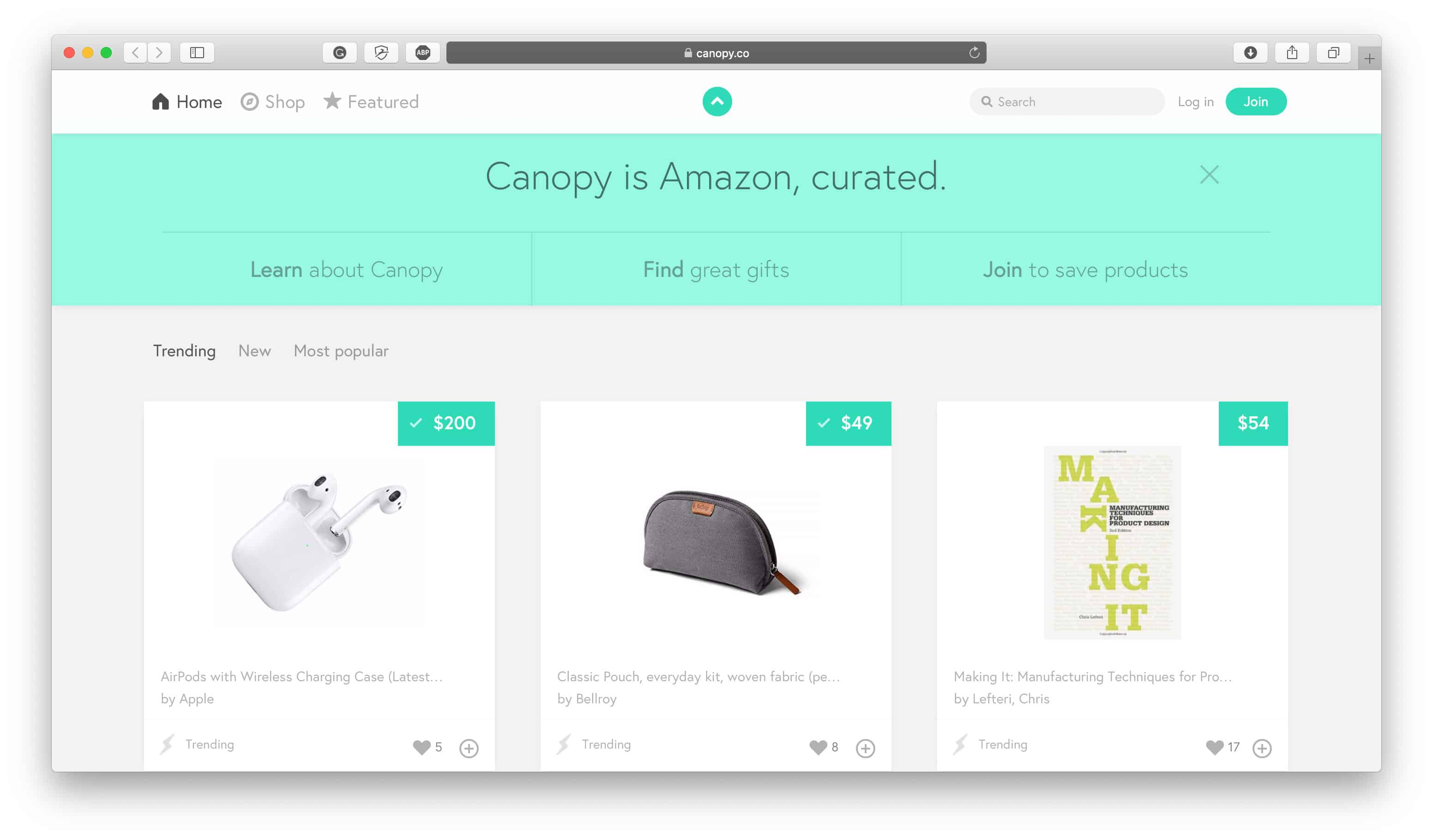 Affiliate Ecommerce Store Example