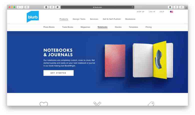 Notebook e riviste Blurb