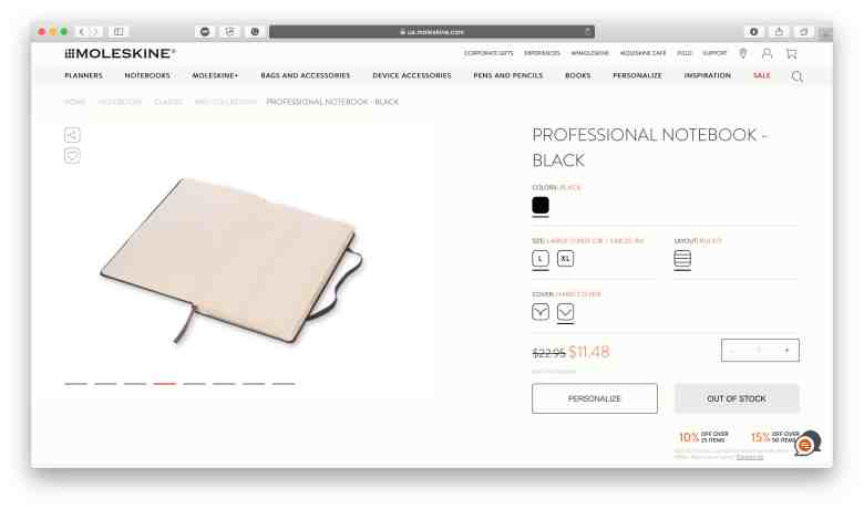 Notebook professionali per aziende