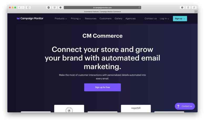 CM Commerce Email Marketing