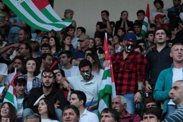 Матч Абхазия – Северный Кипр (фото)