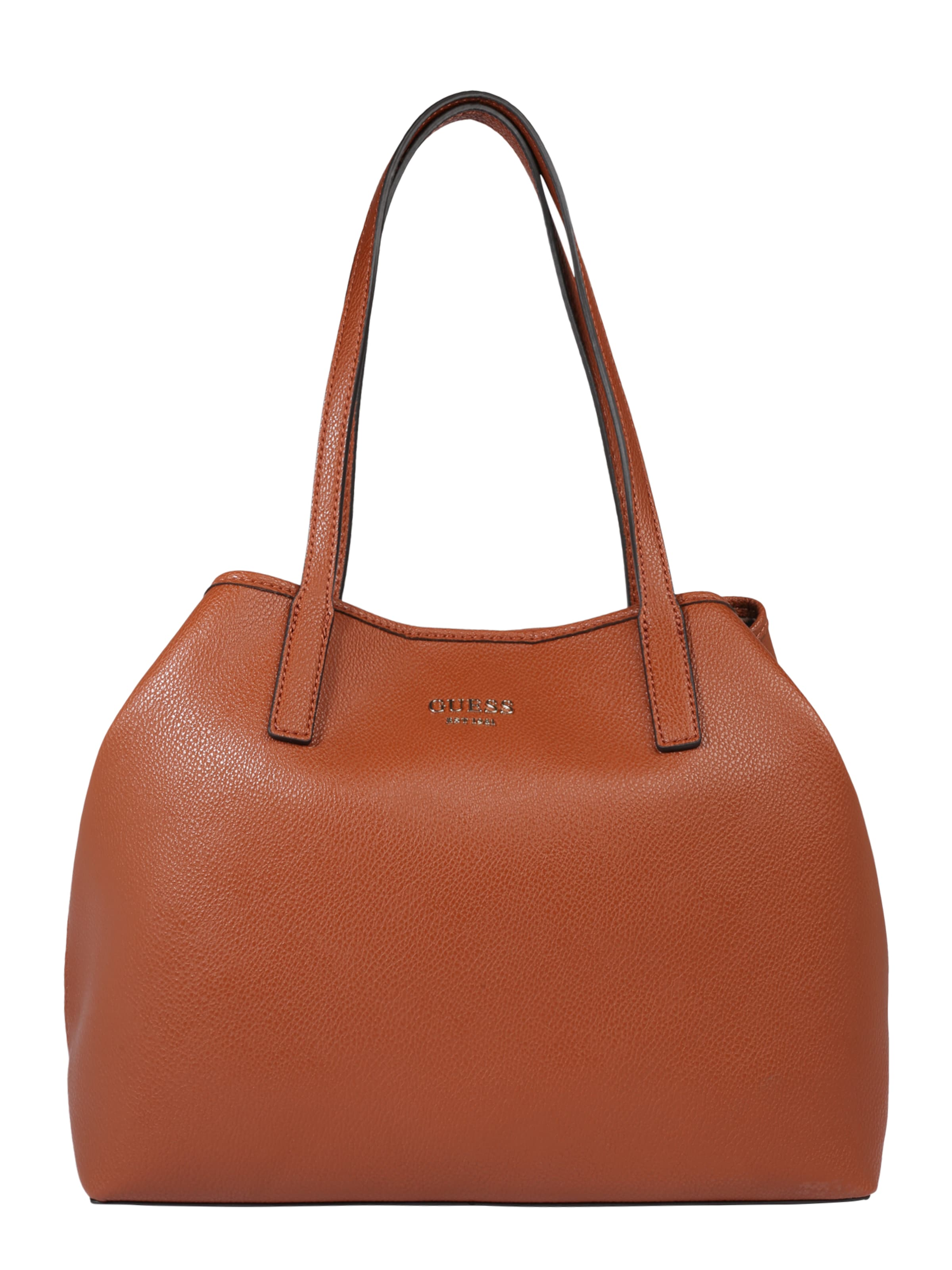 GUESS Tote Bag VIKKY in cognac ABOUT YOU