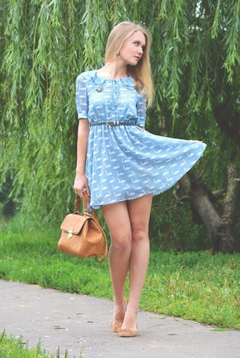 Summer Dresses And Hot Women Go So Well Together 35 pics