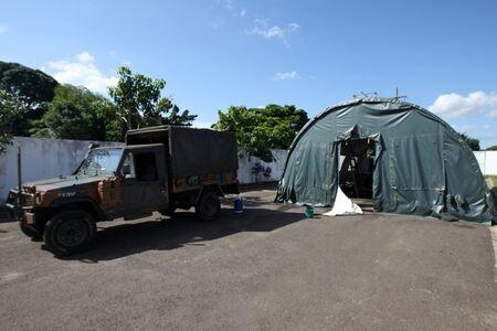 Exército monta Hospital de Campanha em UPA para combater problemas da  dengue - A Crítica de Campo Grande Mobile
