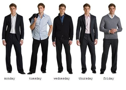 Looking Good With No Jacket Required- It's Called Casual Friday for a Reason