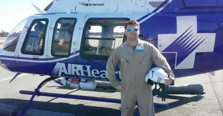 Flight Paramedic Kitt Hunter