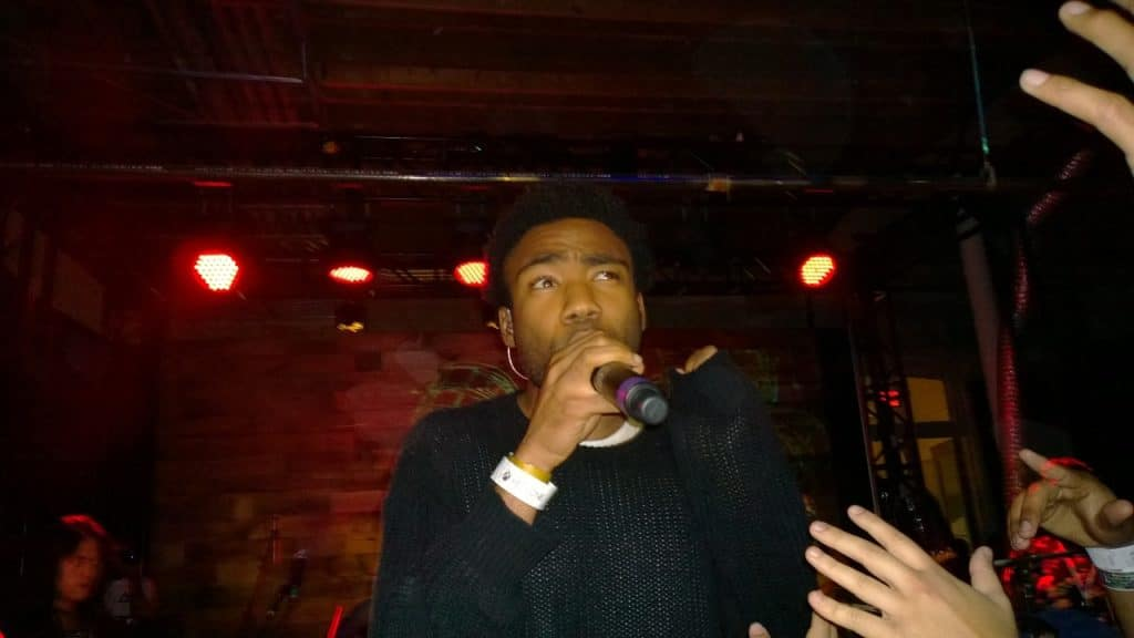 Childish Gambino pictured at South by Southwest 2014