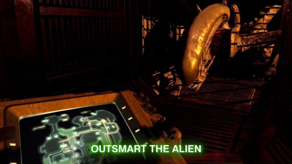 The Xenomorph Comes For Ripley Alien Blackout