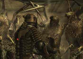 Dead Space Clarke Surrounded by Necromorphs (Image Credit: Visceral Games / Electronic Arts)