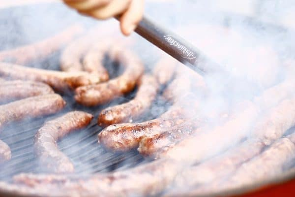 Sausages are easy to prepare keto breakfast foods.