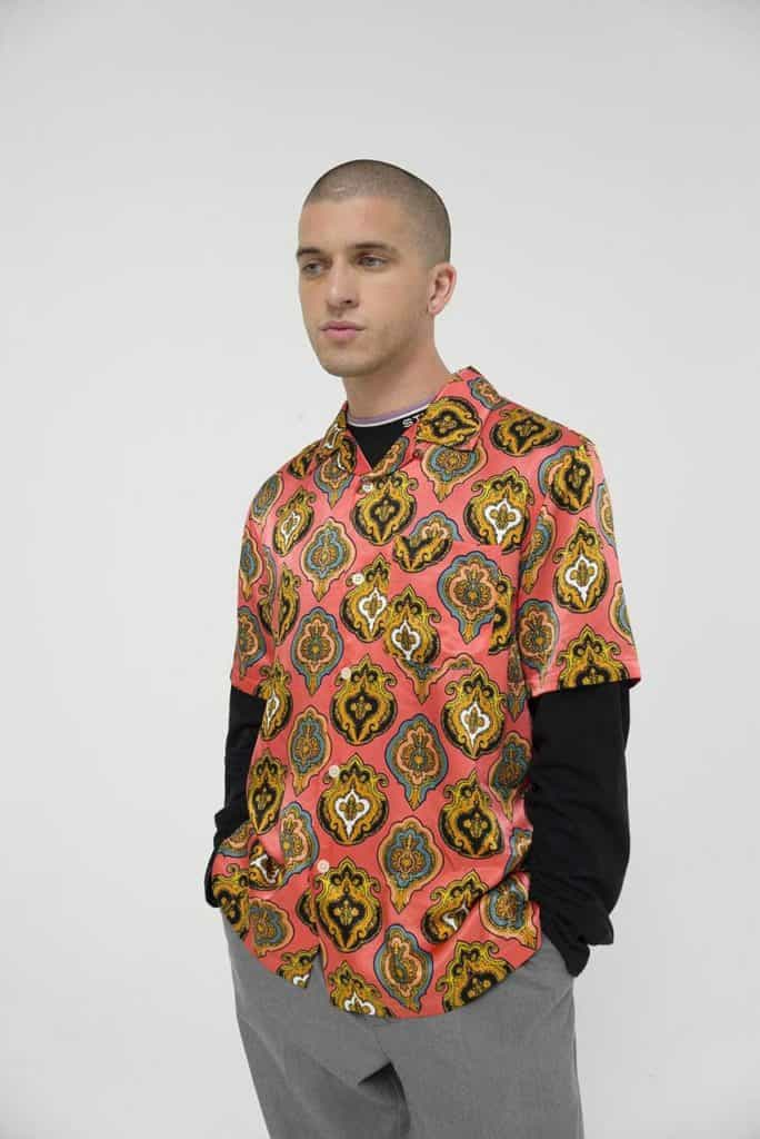 We love a fun carefree shirt for the Spring and this Stussy Shield Shirt just captures that