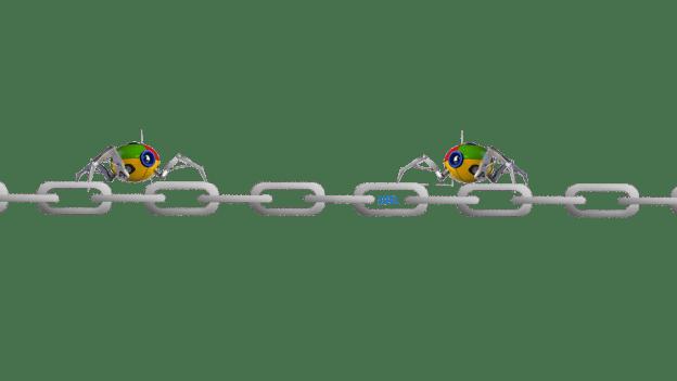 Google Bots crawling links
