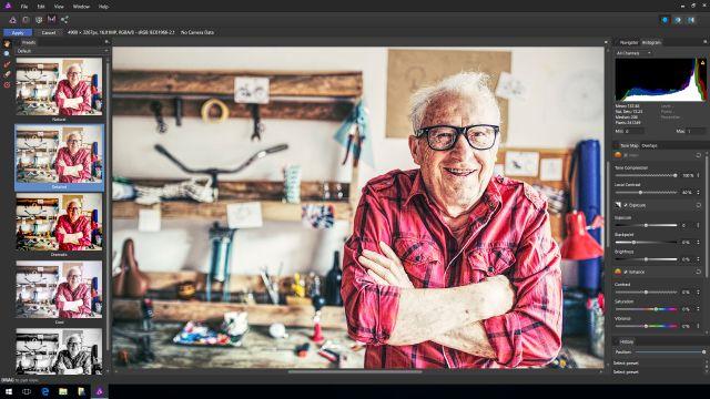 Affinity Photo on Windows Tone Mapping