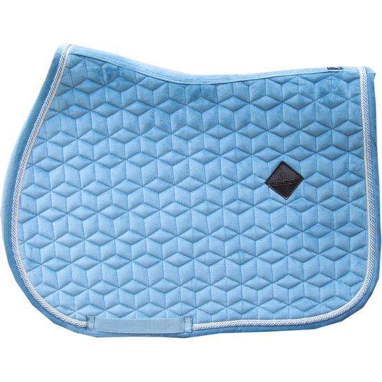 kentucky horsewear schabracke velvet hellblau