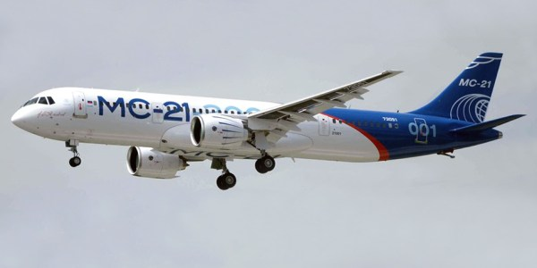 Irkut MC-21 commercial aircraft. Pictures, specifications ...