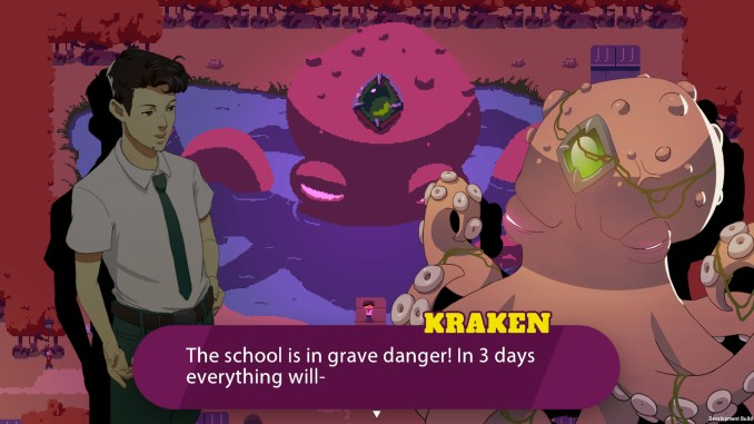 Kraken Academy!! screenshot 1