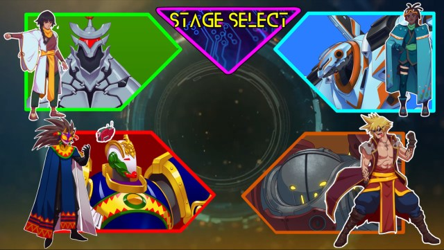 Protodroid DeLTA stage select