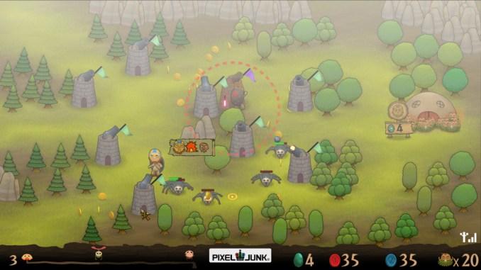 PixelJunk Monsters HD screenshot 1