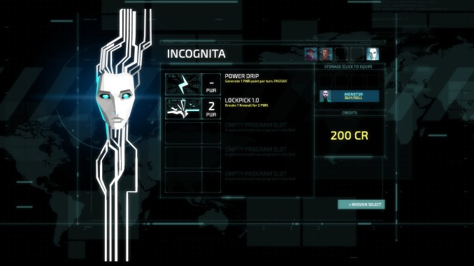 Invisible inc. screenshot 2