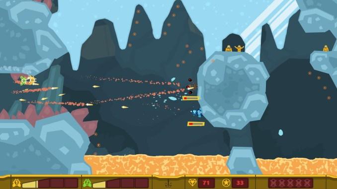 PixelJunk Shooter screenshot 1