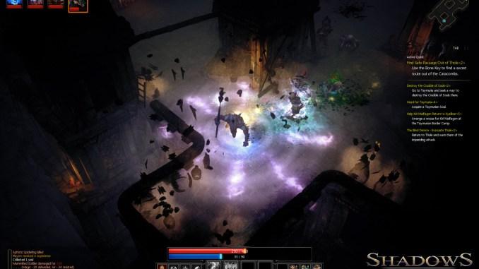 Shadows: Heretic Kingdoms screenshot 3