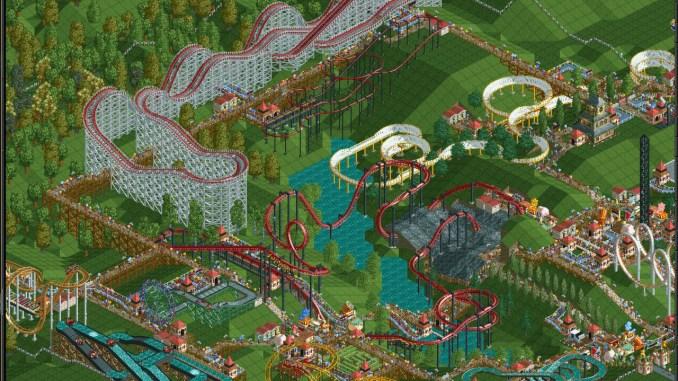 RollerCoaster Tycoon: Deluxe screenshot 2