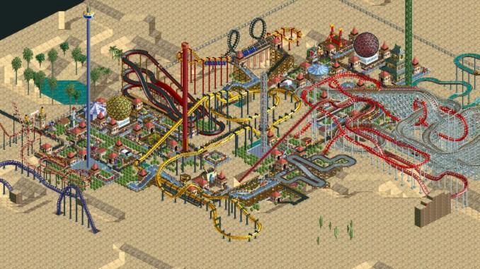RollerCoaster Tycoon: Deluxe screenshot 1