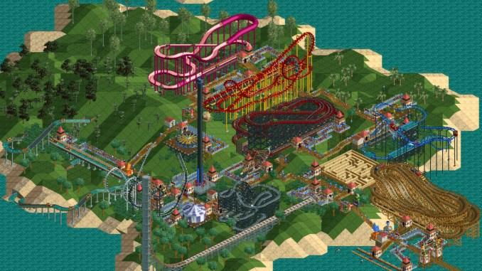 RollerCoaster Tycoon: Deluxe screenshot 3