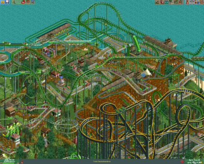 Image result for roller coaster tycoon 2