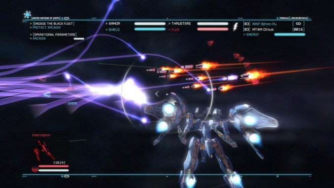 Strike Suit Zero: Director's Cut screenshot 1